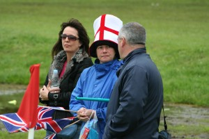 Parents should remember to bring their St Georges flags!